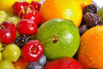 fruits high in antioxidants