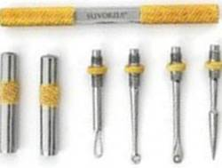 Suvorna Gold Plated Blackhead and Comedone Remover Extractor Set