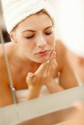 Exfoliation to remove blackheads