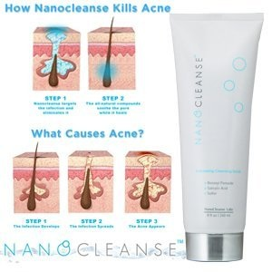 Nanocleanse is a powerful acne blackhead treatment that clears existing blackheads in 72 hours
