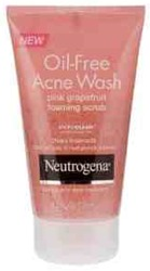 Neutrogena Oil-Free Acne Wash Scrub Pink Grapefruit