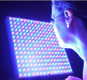 red and blue light therapy at home