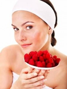 raspberry face mask